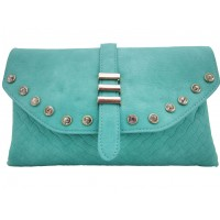 Cartera C/Brillantes Trendy Verde