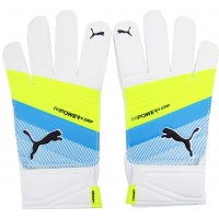 Guantes Evo Power Grip Puma Blanco/Amarillo