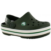 Crocband Kids Crocs Green