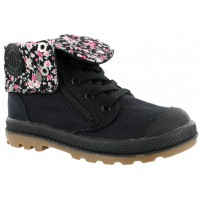 Bota Casual Croco Kids Black