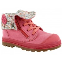 Bota Casual Croco Kids Pink