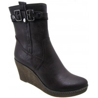 Bota Casual A.Giannini Brown
