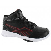 Clean Shot Jrs Reebok Black/Red