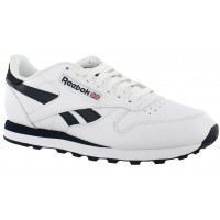 Classic Leather Reebok White/Navy