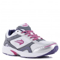 Deportivo Lady Pacer Topper Blanco/Gris