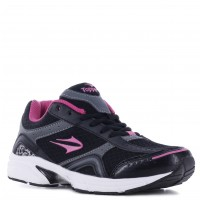 Deportivo Lady Pacer Topper Negro/Rosa