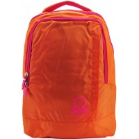 Mochila Notebook Ben File Benetton Orange
