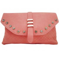Cartera C/Brillantes Trendy Rosado