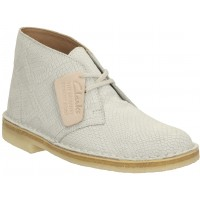Desert Boot. Clarks Off White