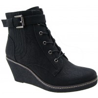 Bota Casual A.Giannini Black