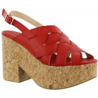 Sandalia Casual Miss Carol Red