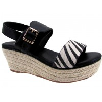 Sandalia Casual Miss Carol Black
