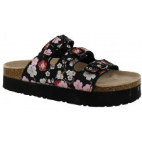 Sandalia Casual MINI Miss Carol Black/Flower