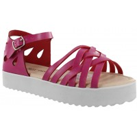 Sandalia Casual MINI Miss Carol Fucsia